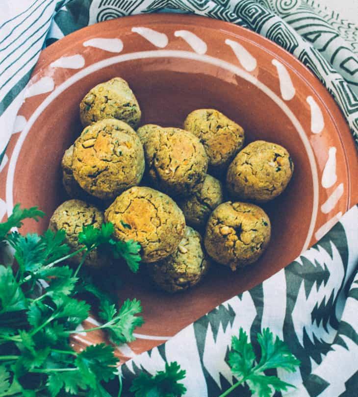 Falafelit uunissa