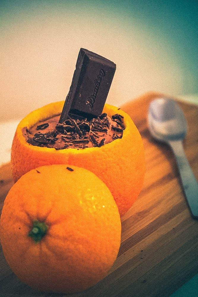 Cappucino- appelsiini- mousse