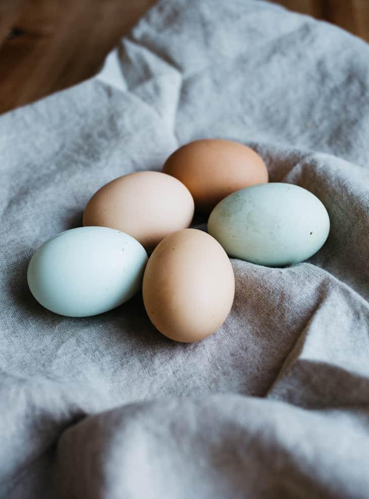 Kovaksi keitetyt munat