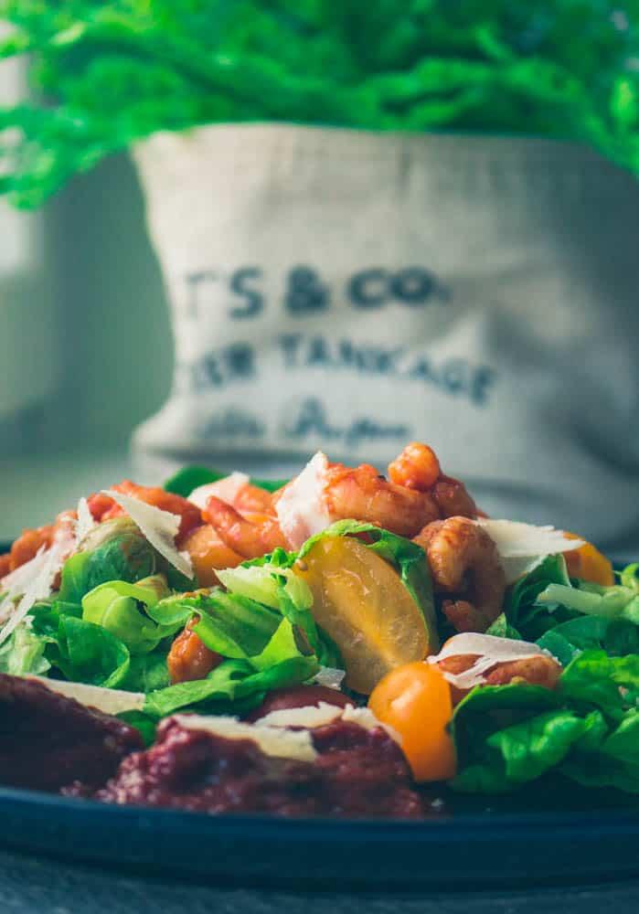 Pizza- salaatti