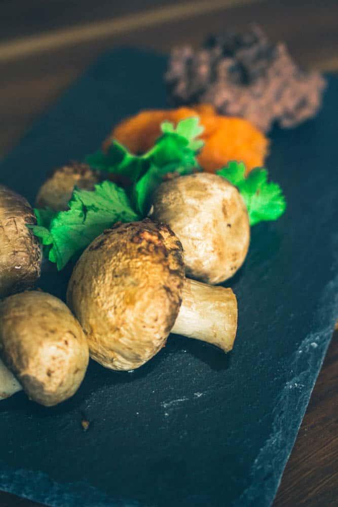 Marinoidut grillisienet ja vegedipit