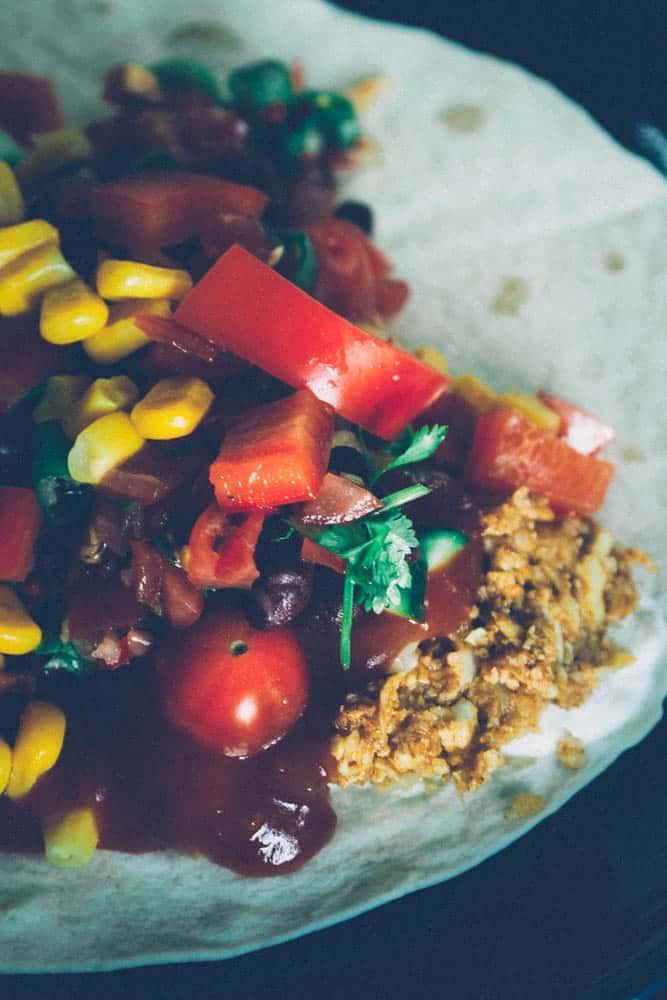 Kukkakaali- tortillat