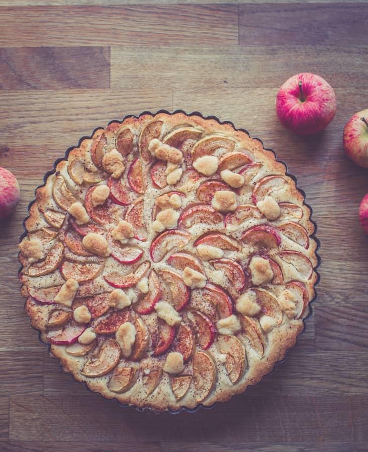 Syksyinen omenapiirakka