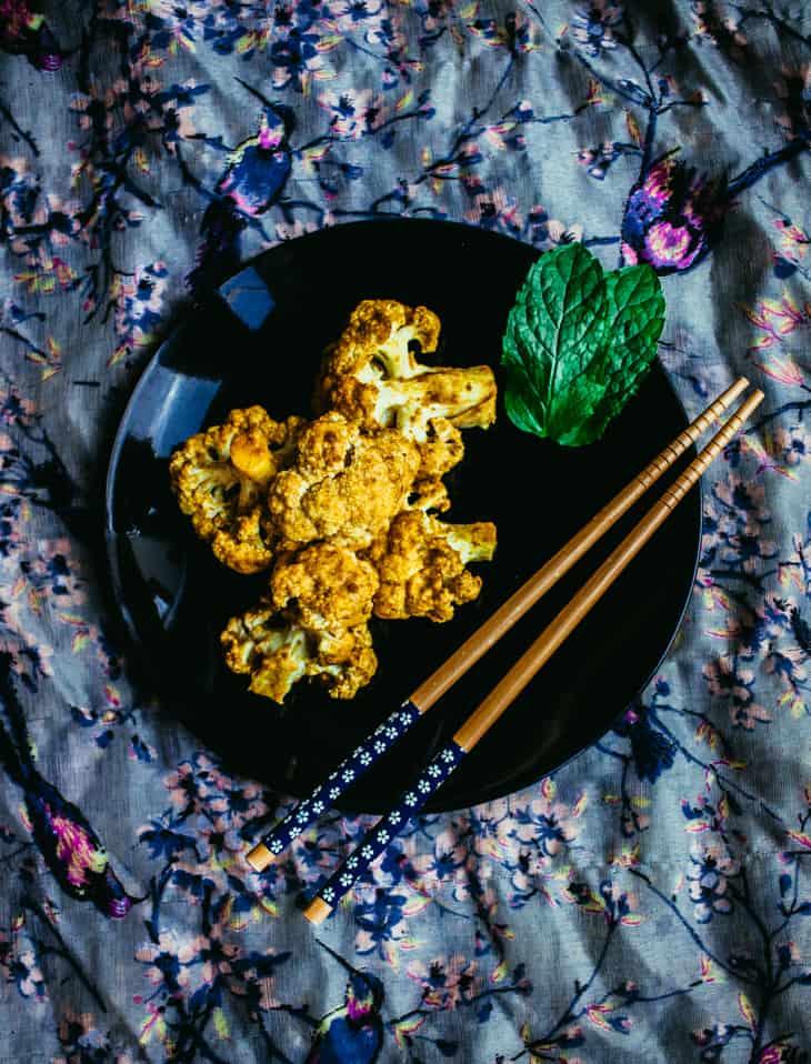 Nopeat curry-kukkakaaliqwingsit